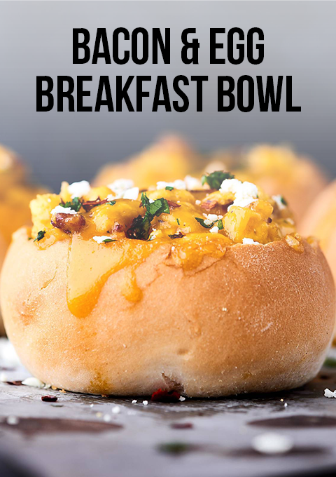 Bacon & Egg Breakfast Bowl